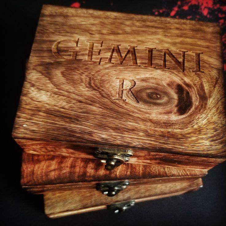 Personalized Wooden Box, perfect handmade keepsake, laser engraved