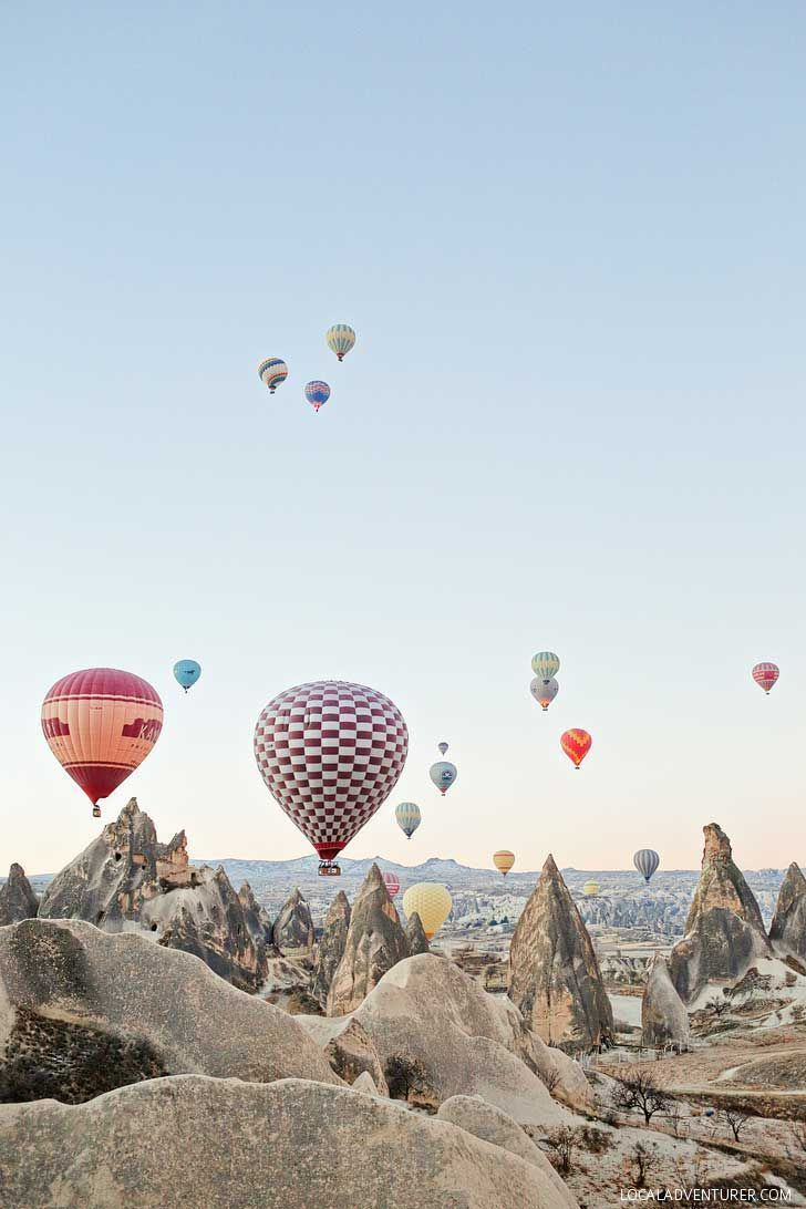 Magical Experience Riding Cappadocia Hot Air Balloons in Turkey // http://localadventurer.com