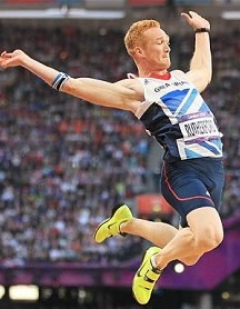 greg rutherford redhead sports star long jump
