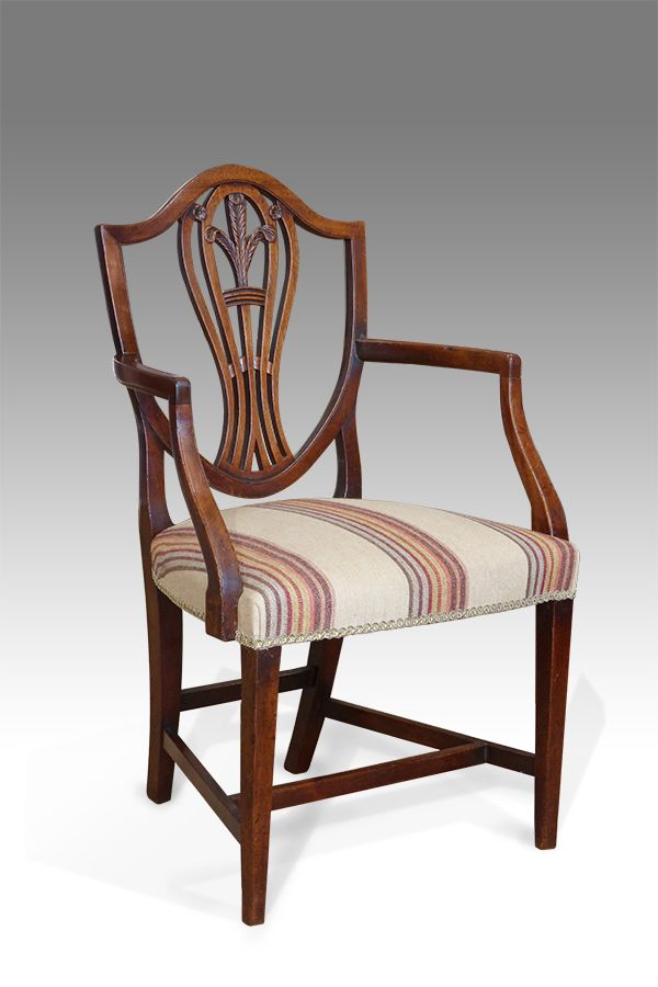 Set Of 12 Shield Back Dining Chairs 12 Antique Dining Chairs