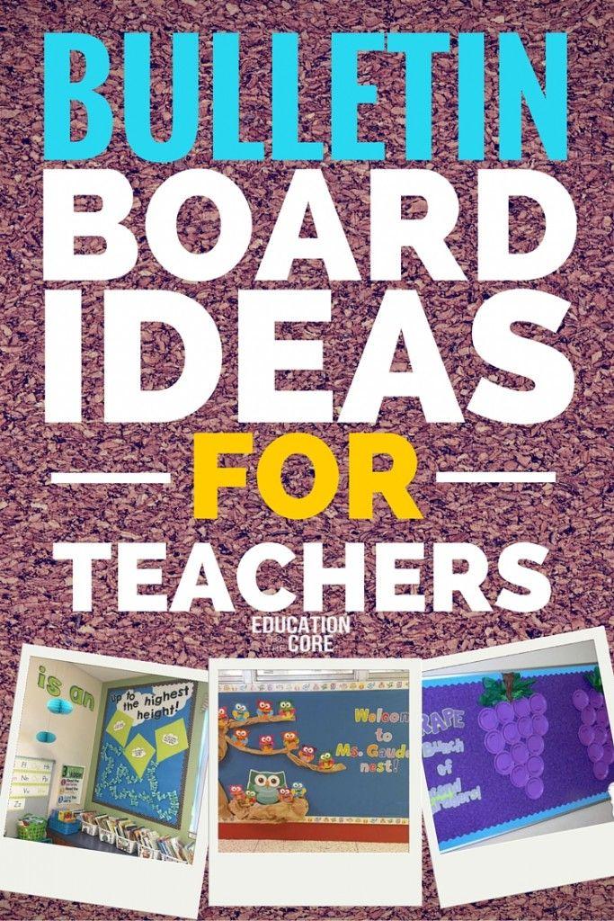 Bulletin Board Ideas In Classroom ~ Best bulletin boards we love images on pinterest