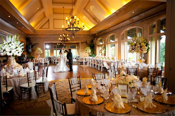Outdoor Wedding At Houston Oaks Country Club: Royal Oaks Country Club