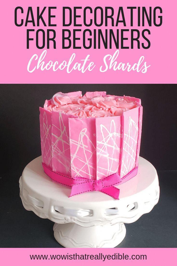 Die ultimative Anleitung für Anfänger zum Verzieren von Kuchen Teil II | Erfahren Sie, wie Sie …   – Schokokuchen