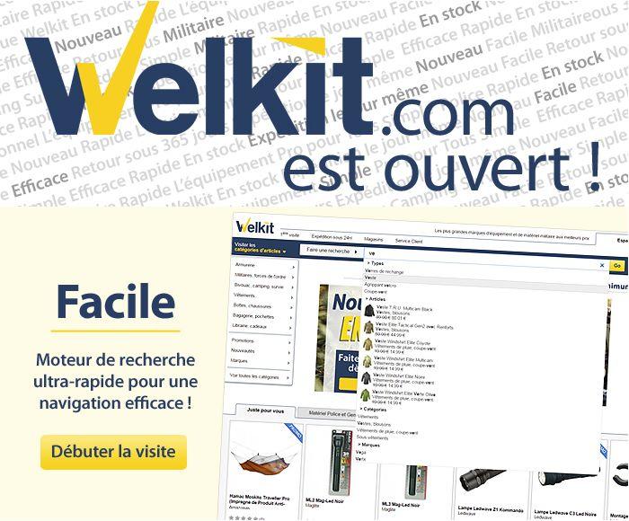 Welkit, qui a choisi Antidot AFS@Store pour son nouveau site e-commerce www.welkit.com, revendique la qualité de son moteur de recherche :