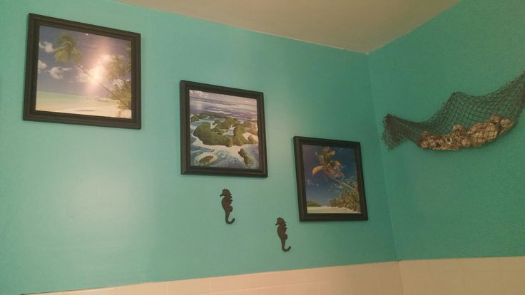 calender pic in 12x12 frame seahorses from hobby lobby