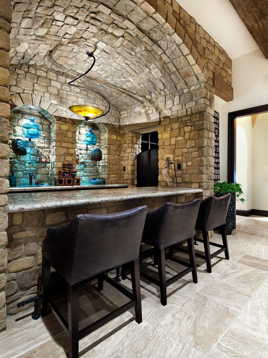 Loving the stone basement design pictures remodel for Houses in houston with basements