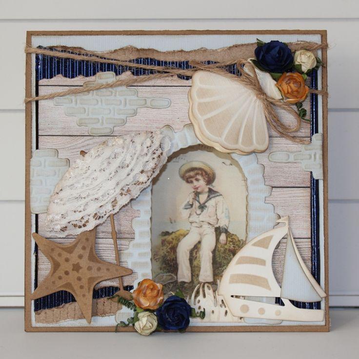 Cards of Joy: Sailor boy