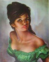 tina (green dress)