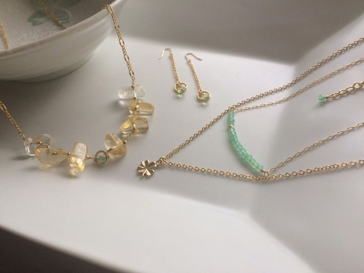 Spring breeze gemstone jewerly _ by So. /Republic of Korea/
