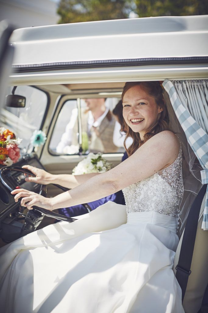 VW CAMPER HIRE DEVON LTD   Campervans are an iconic vechicle here in North Devon. Hiring them to arrive to your wedding is possible with VW Camper Hire Devon. They also offer the opportunity to convert a camper-van to a sweet shop. Curious? See more information here:
