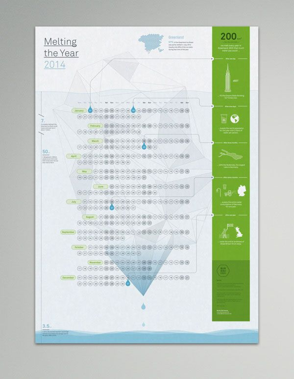 Bureau Oberhaeuser Calendar 2014 - White Edition