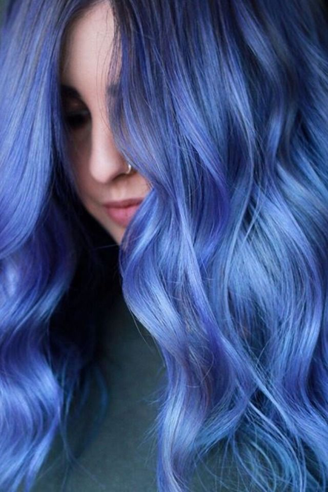 Pastel Blue Coloring Conditioner Blue Ombre Hair Ombre Hair