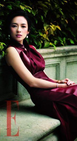 The very classy Zhang Ziyi