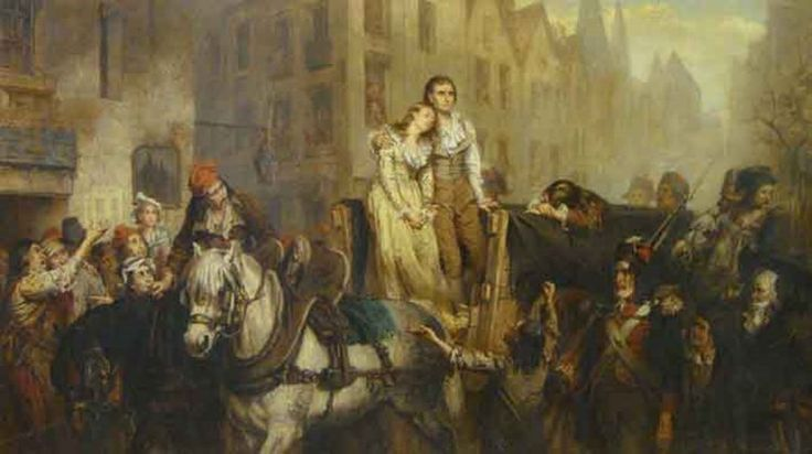French Revolution scene in Cheshire  Frank Marshall's two-day sale on January 29-30 in Knutsford, Cheshire, will include this painting by Laslett John Pott (1837-1898).