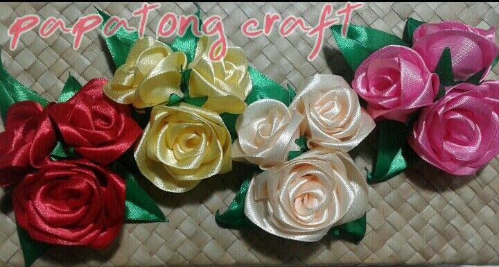 Rose broch