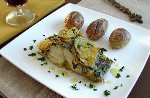 Bacalhau no forno polvilhado com pão ralado | Food From Portugal