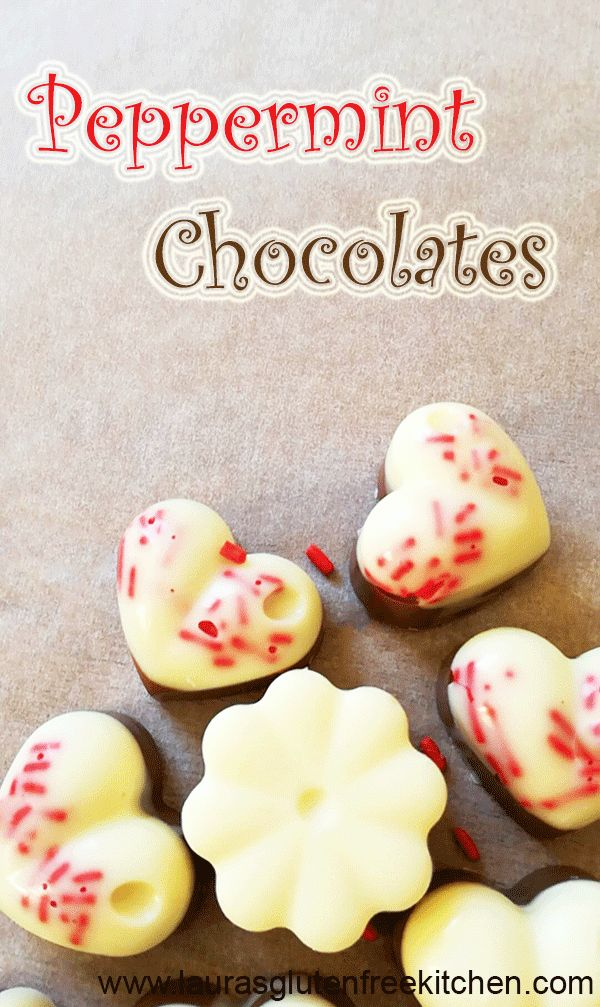 Homemade Peppermint Chocolates ---- Christmas is just around the corner, so its the time of year to go mad for experimenting in the kitchen.