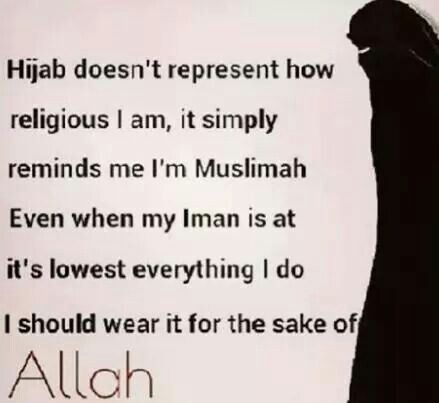 good reminder for the sisters who struggle with hijab… im not perfect, but i try trust me