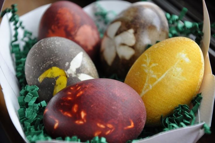Egg dyeing with onion skins: Botanical Prints Nifti, Eggs Dyes, Onions Skin, Natural Dyes, Egg Dye, Art Supplies, Natural Eggs