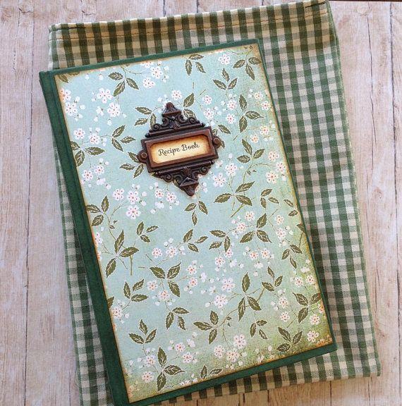 Recipe Book. Recipe Journal. Junk Journal. Handmade Journal.