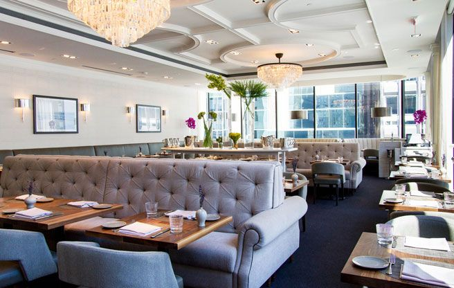 Introducing: The Chase, a swishy new penthouse #restaurant in the Financial District.  #food #toronto