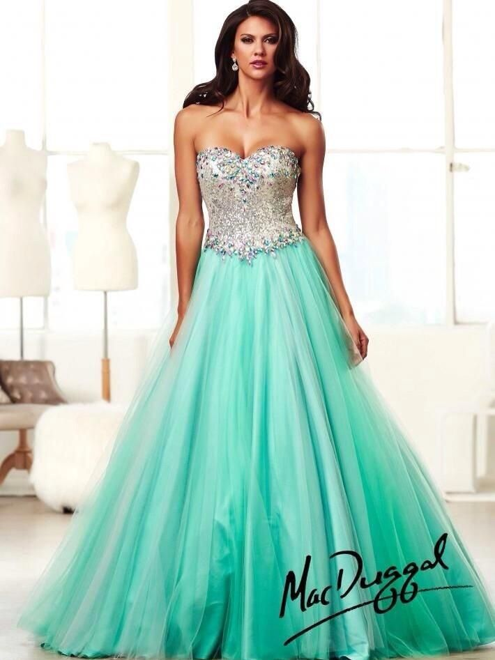 Looking Up Prom Dress