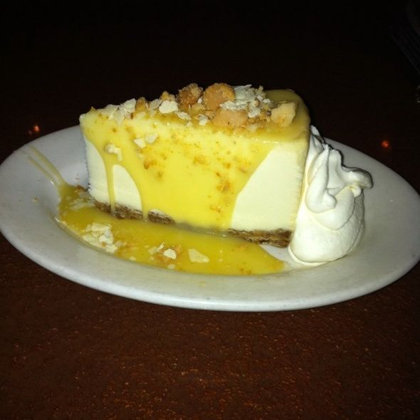 White Chocolate Macadamia Nut Cheesecake from Copeland's Cheesecake Bistro in Baton Rouge, LA... most delicious cheesecake I've ever eaten