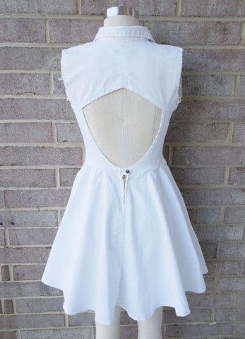 Snow Choco Button-Down Dress - LiTTLE RAMONAS