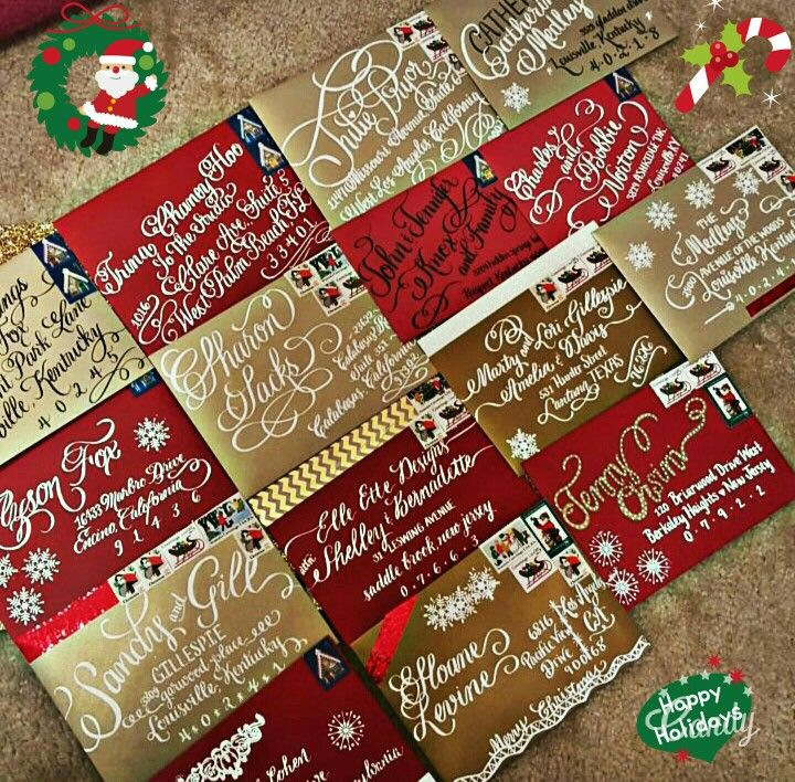 All these Christmas cards are officially gone  #calligraphybyjennifer #calligraphy #christmastime #christmas #christmasspirit #merrychristmas #happyholidays #christmascards #holidayspirit #nationwidecalligrapher #calligraphybyjennifer: