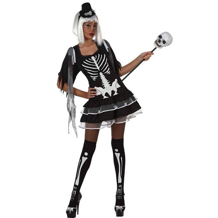 Comprar Disfraz de Esqueleto sexy para mujer talla M-L a 17,99€ > Disfraces adultos chicas halloween > Disfraces y complementos para halloween > Disfraces baratos y de lujo | DISFRACES BARATOS,PELUCAS PARA DISFRACES,DISFRACES,PARTY,TIENDA DE DISFRACES ONLINE-TIENDAS DE DISFRACES MADRID-MUÑECOS DE GOMA-PELUCAS PARA DISFRAZ,VENTA ONLINE DISFRACES