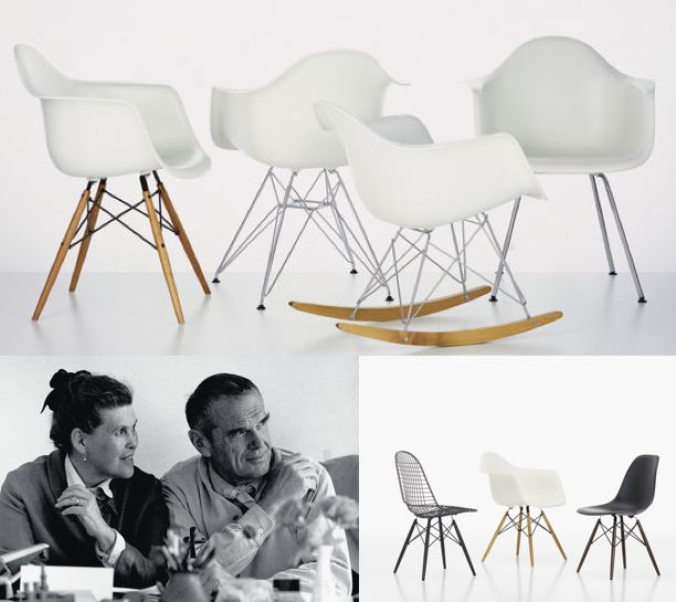 25 best charles et ray eames images on pinterest chairs - Charles et ray eames chaise ...