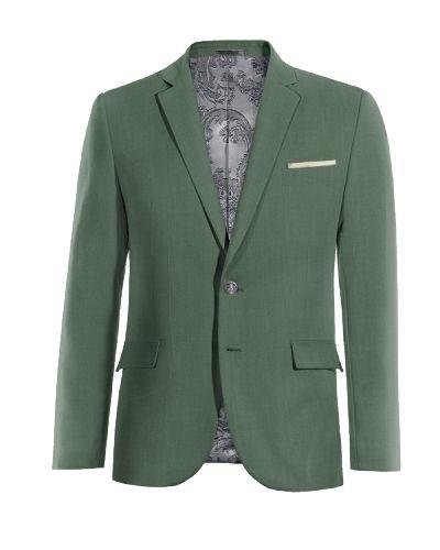 Green wool Blazer - http://www.tailor4less.com/en-us/men/blazers/3274-green-wool-blazer