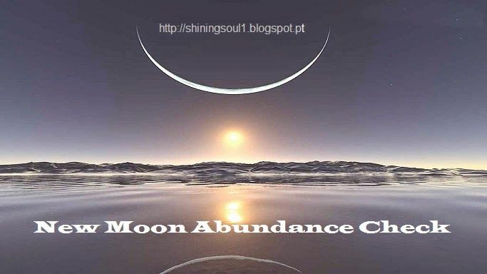 ShiningSoul: New Moon Abundance Check #February / Cheque da Abu...