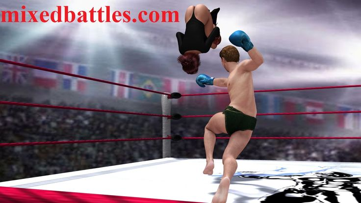 New CFNM mixed boxing pictures gallery added to http://mixedbattles.com - 300 FullHD pics!