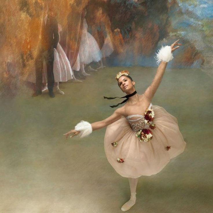 Misty Copeland and Degas: Art of Dance