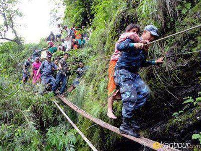 First responders in Nepal!