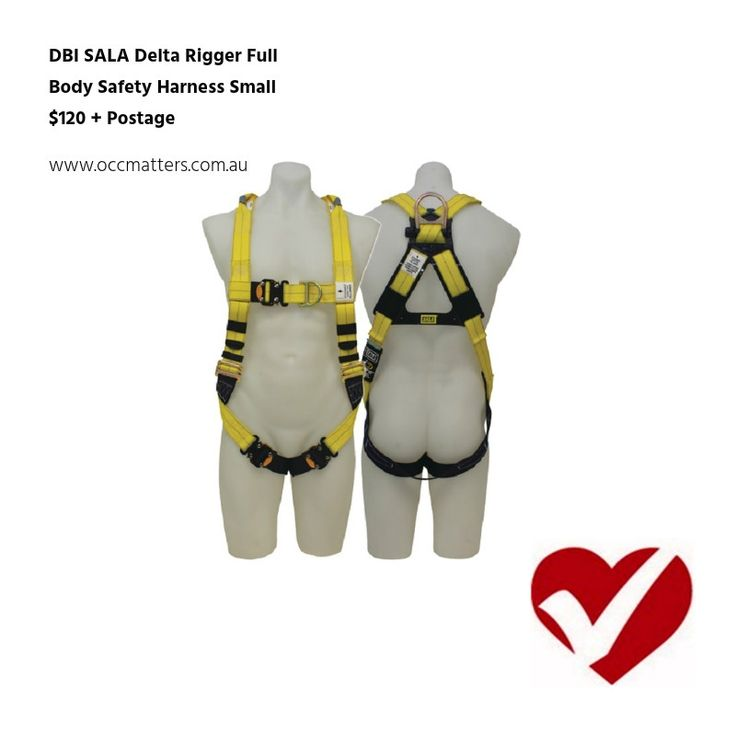 Large rear fall arrest rated stand-up D-ring  Front fall arrest rated D-ring  Quick connect buckles on chest and leg straps  Confined space/retrieval attachment points  Easy adjust torso buckles  Easy grip end tabs and keepers  Impact Indicator, Protected labels  Complies with AS/NZS 1891.1   | Shop this product here: http://spreesy.com/occmatters/13 | Shop all of our products at http://spreesy.com/occmatters    | Pinterest selling powered by Spreesy.com