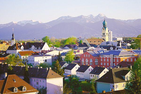 Rosenheim, Germany - hier leben wir zur Zeit ;-)