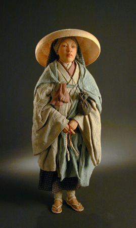 Japanese Shinto Nun  Creager Studios