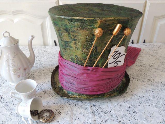 Les 25 meilleures id es de la cat gorie chapeaux de chapelier fou sur pinterest costumes - Deguisement alice au pays des merveilles fait maison ...