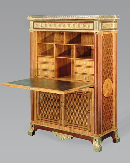 1000 id es propos de bureau de secr taire antique sur for Model de bureau secretaire