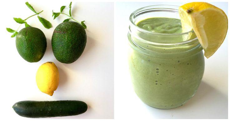 # Søndagsdetox - Avocado og agurk smoothie