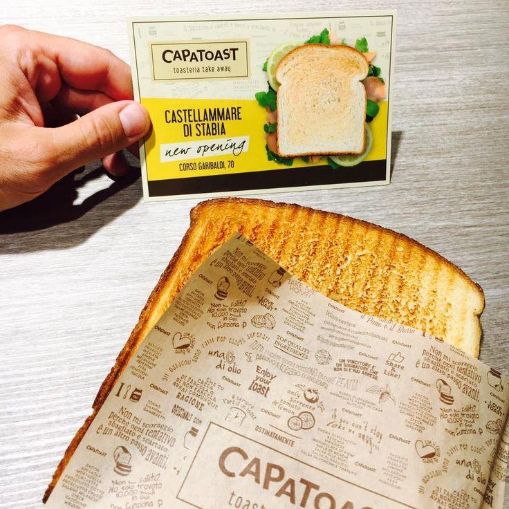New opening #CAPATOAST   Vieni a gustarci, siamo in Corso Garibaldi, 70