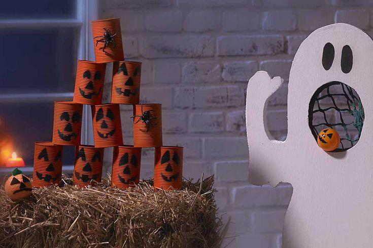 Kinder Halloween Spiele