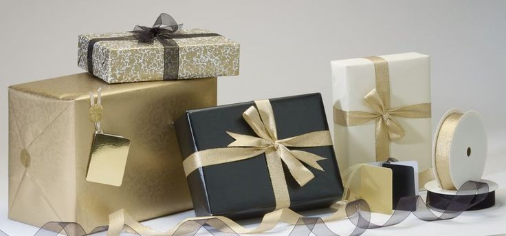 Royal Gold Gift Wrap Collection