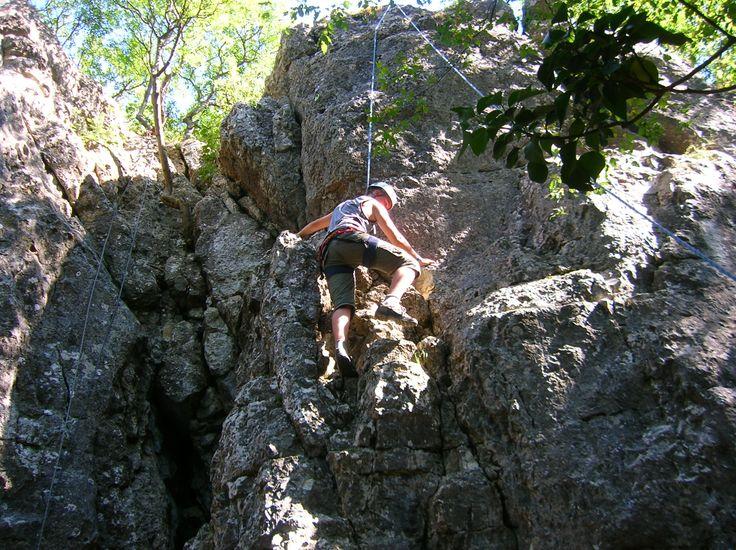 Zánkaland túlélő tábor sziklamászás