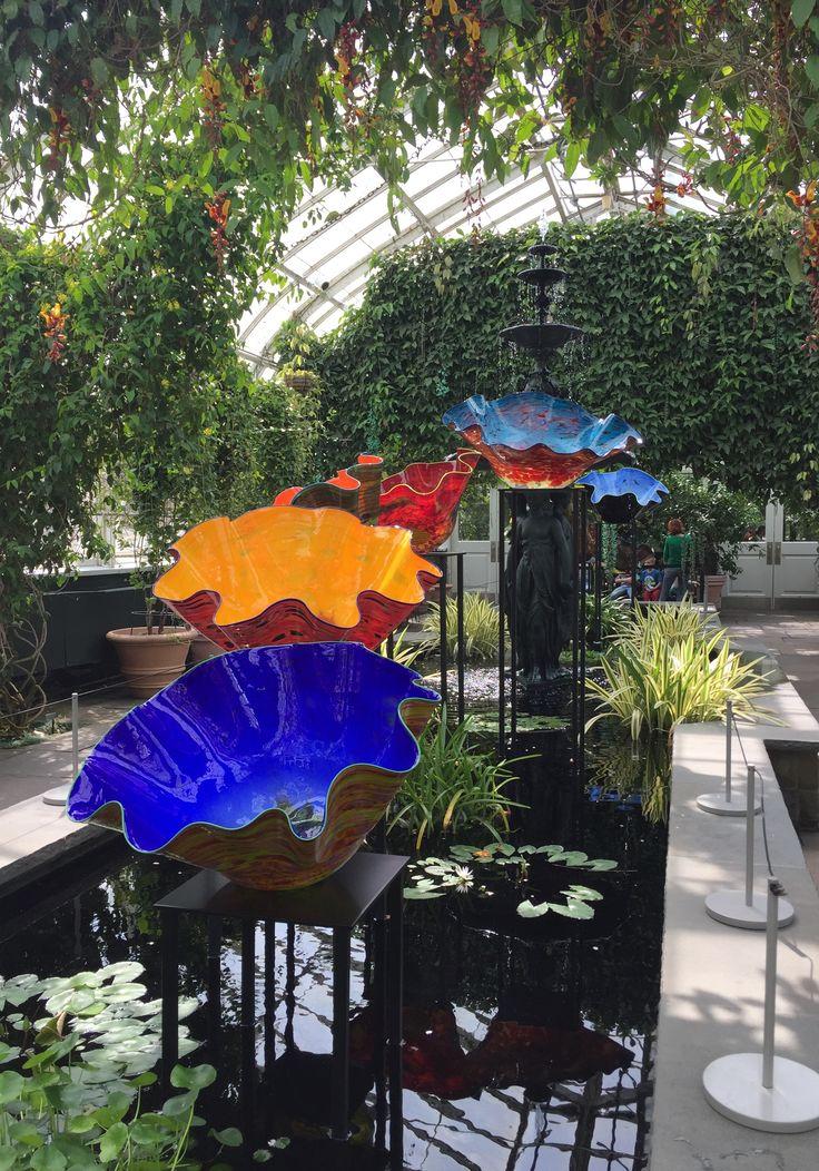 Chihuly exhibition at NY Botanical Garden