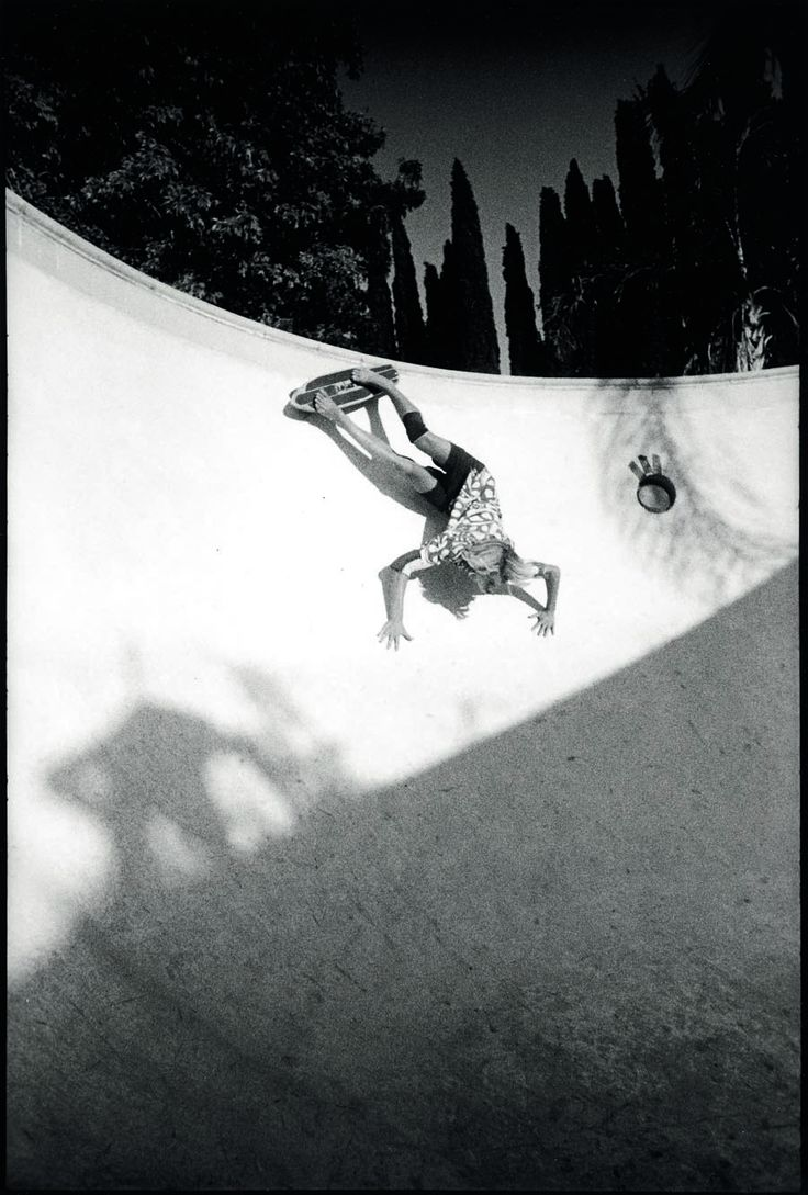 Jay Adams, Northridge, California, ca. 1973 by Craig Stecyk  can you?
