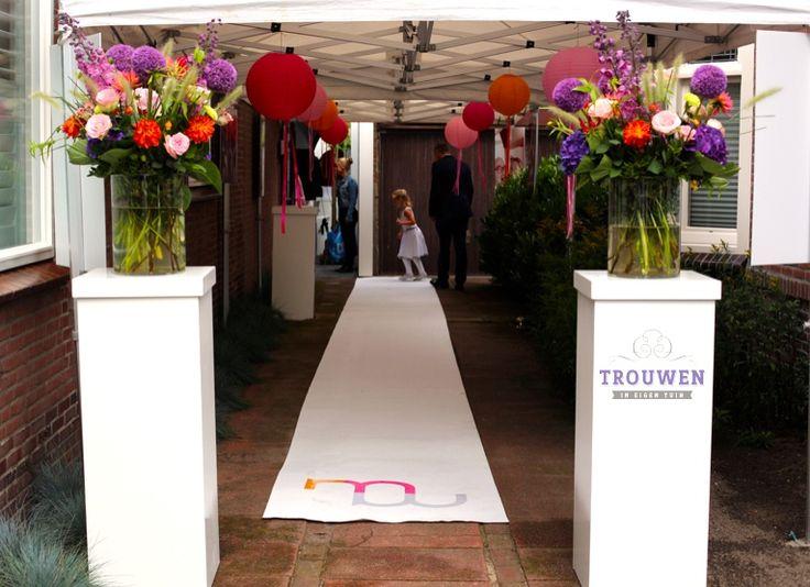 Meer dan 1000 idee n over witte bruiloft bloemen op pinterest witte bruiloft boeketten - Decoratie eetzaal ...