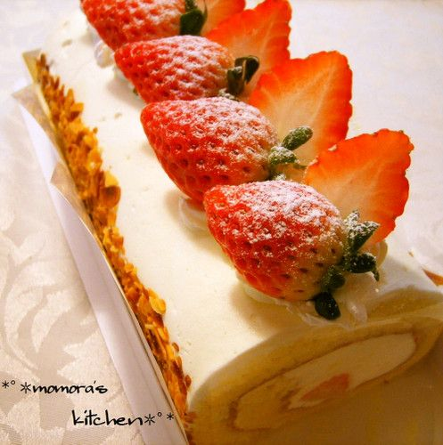 Just 3 Ingredients for the Batter ♬ Easy, Fluffy Swiss Rolls ♡
